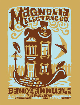 $40 • Buy MAGNOLIA ELECTRIC CO. 2009 Gig Poster