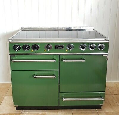 £1349 • Buy Falcon Deluxe  110 CM Range Cooker In Green  And Chrome