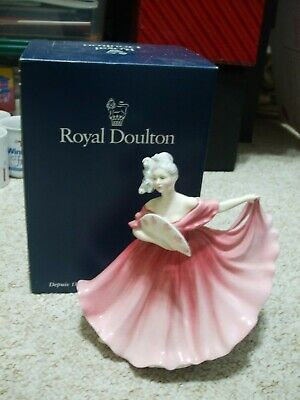 £35 • Buy Royal Doulton Figurine Elaine Pink Boxed In Excellent Condition