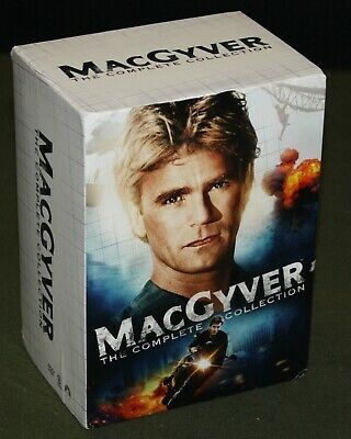 $49.95 • Buy MacGyver: The Complete Series (39-DVD Set) Richard Dean Anderson