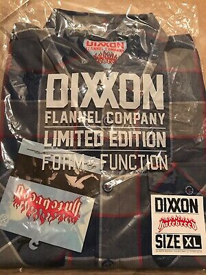 $30 • Buy Dixxon Flannel XL  Hatebreed  Collaboration Brand New With Tags