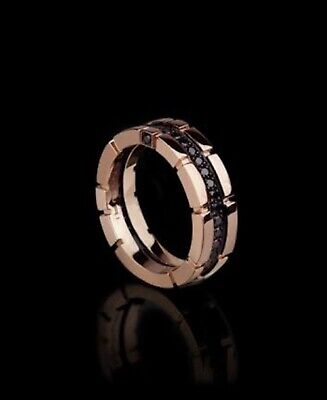 AU3900 • Buy Men's Gold And Diamond Ring Size O 1/2