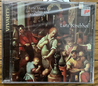 £14.54 • Buy NEW SEALED Rare (CD) LUTE MUSIC FOR WITCHES AND ALCHEMISTS Lutz Kirchhof