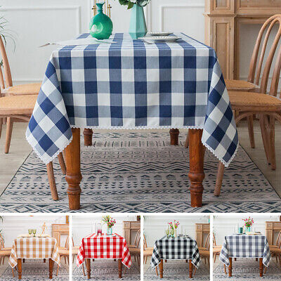 AU23.89 • Buy Tablecloth Table Cover Cloth Cover Protector Dining Kitchen Home Waterproof NEW