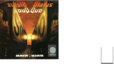 £3.40 • Buy Status Quo Back To Back Two Cd Set