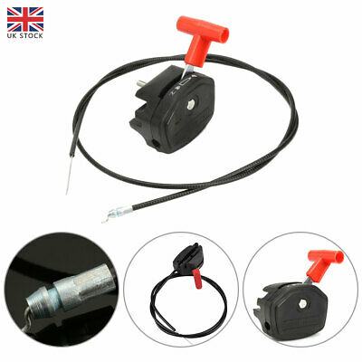 £10.99 • Buy 56'' Lawn Mower Throttle Cable Switch Lever Control Handle For Lawnmower Parts