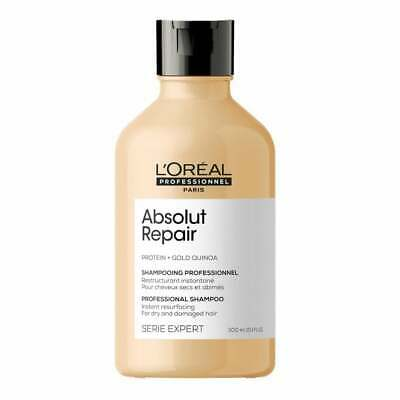 £12.95 • Buy L'Oreal Professional Serie Expert ABSOLUT REPAIR Protein SHAMPOO - 300ml