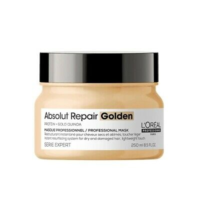 £16.89 • Buy  L'Oreal Serie Expert Absolut Repair 250ml Mask With Gold Quinoa + Protein