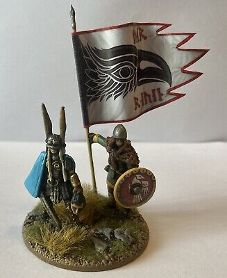 £250 • Buy Expertly Painted 28mm Viking Shieldmaiden Raiding Party #2