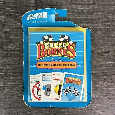 $22.95 • Buy Vtg Mille Bornes French Auto Race Card Game Parker Brothers 1992 BRAND NEW