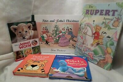 £9 • Buy 5 Children Books Age-3+    1) Wake Up Igglepiggle.  2) Vsborne Touchy-feely Book