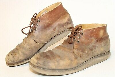 $5.50 • Buy DISTRESSED Red Wing USA Made 595 Traction Tred Mens 11.5 45 D Chukka Boots