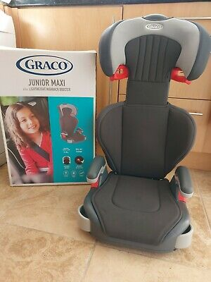 £29 • Buy Graco Junior Maxi Lightweight High Back Booster Car Seat 4 To12 Years Group 2/3