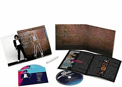 £9.95 • Buy Michael Jackson - Off The Wall (2016)  CD+DVD  NEW/SEALED  SPEEDYPOST