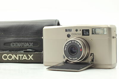 $ CDN730.12 • Buy [Almost MINT Case] Contax TVS III Data Back Point & Shoot Film Camera From JAPAN