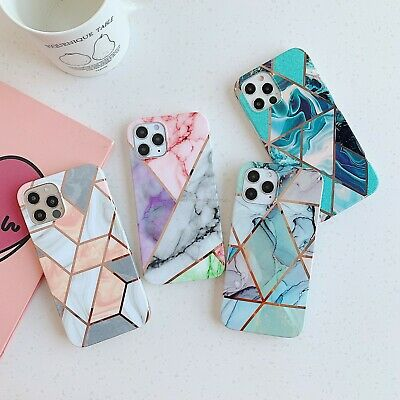 AU8.79 • Buy For IPhone 12 11 Pro XS Max XR 8 7 Plus Marble Silicone TPU Soft Case Cover