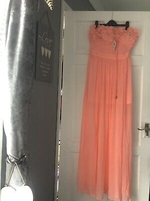 £15 • Buy Brand New River Island Beach Cover Up Dress Coral Size L