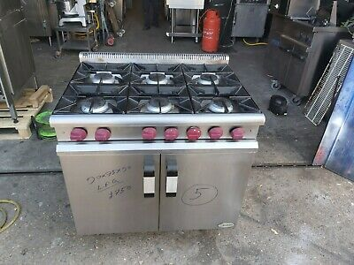 £750 • Buy Moorwood 6 Burners LPG Commercial Cooker With Oven For Restaurants & Catering