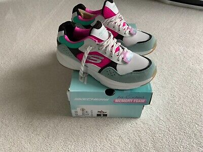 £40 • Buy Brand New In Box Ladies Sketchers Memory Foam Lightweight Trainers Shoes Size 6
