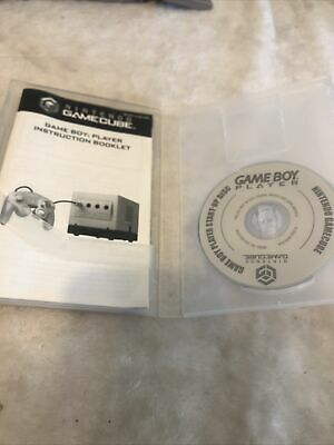 £71.26 • Buy Nintendo GameCube Gameboy Player: Start Up Disc Only! Plus Instruction Booklet