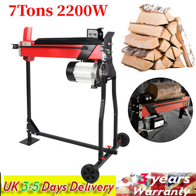 £270.56 • Buy Electric 7 Ton Hydraulic Log Splitter Electric Hydraulic Wood Timber Tutter Tool