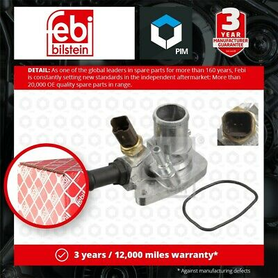 £24.24 • Buy Coolant Thermostat Fits FIAT GRANDE PUNTO 199 1.2 1.4 2005 On 55194029 55202176