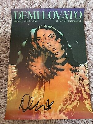 £24 • Buy Demi Lovato UK Exclusive Signed Poster