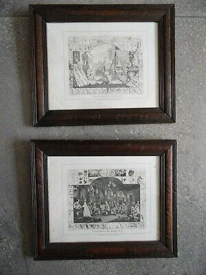 £90 • Buy William Hogarth The Analysis Of Beauty Pair Framed Engravings 1808 Cook