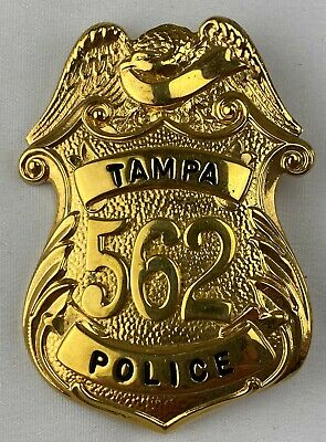 £19.99 • Buy Obsolete  US Breast  Officer Tampa  Police Badge