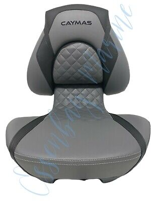 $ CDN251.71 • Buy Attwood Centric X Tour Folding Boat Seat For Caymas Boats Black/Grey