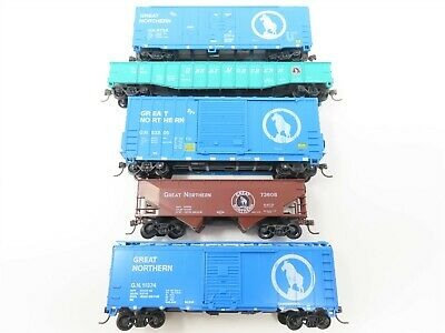 $ CDN50.34 • Buy LOT Of 5 HO Scale Athearn GN Great Northern Railroad Freight Train Car Set