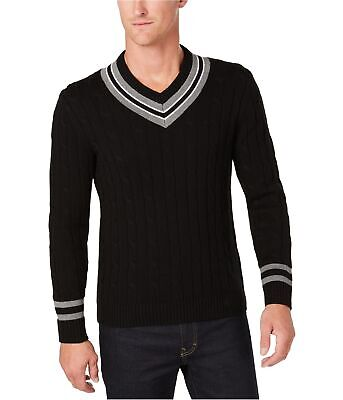 $37.39 • Buy Club Room Mens Cricket Pullover Sweater, Black, XXX-Large