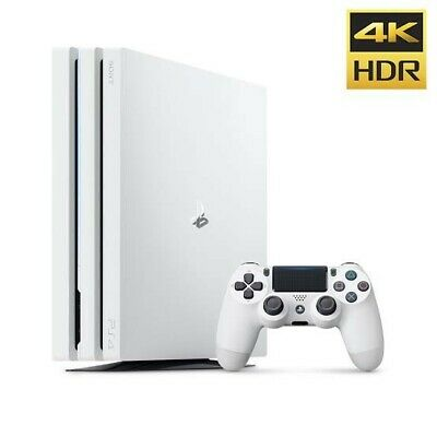 AU275 • Buy PS4 Pro White 1TB + Games And Spare Controller