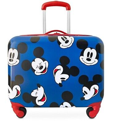 £42 • Buy Disney Store Mickey Mouse Rolling Luggage BNWT