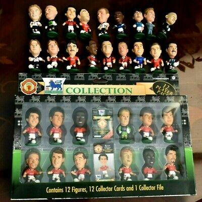 £40 • Buy Boxed Manchester United Football Figures Plus Others.