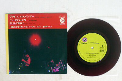 £2.90 • Buy GRAND FUNK RAILROAD SIN'S A GOODMAN'S BROTHER CAPITOL CP-4602 Japan RED 7