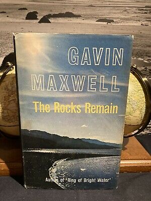 £12 • Buy The Rocks Remain Gavin Maxwell 1963 1st/2nd Ring Of Bright Water Sequel Fine