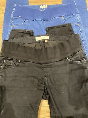 £10 • Buy 2xTopshop Leigh Maternity Jeans Size 10