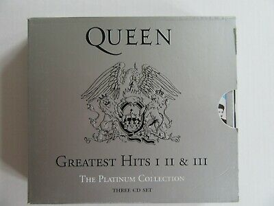£10.99 • Buy Queen The Platinum Collection CD Box Set (I II III) - Greatest Hits 1/2/3.