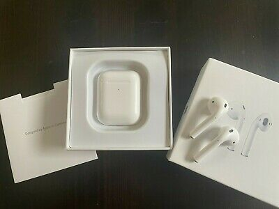 AU62.32 • Buy Refurbished Airpods 2nd Generation With Wireless Charging Case