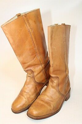 $26 • Buy Frye Mens Size 10.5 D Campus 14L Leather Pull On USA Made Vintage Boots 3575