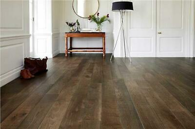 £0.99 • Buy Engineered Oak Wood Flooring - Ground Coffee Lacquered T&G - 20x6x190mm *SAMPLE*