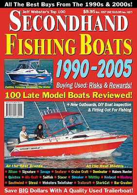AU6.95 • Buy Secondhand Fishing Boats 1990 - 2005 Mag. Reviews Signature, Haines, Quintrex