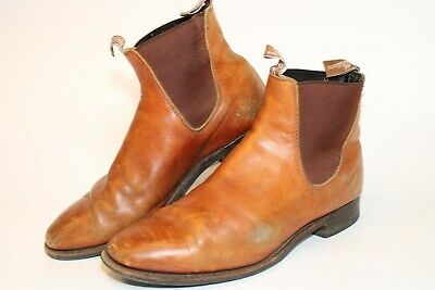 $5.50 • Buy R.M. Williams Australia Made Mens AU 11.5 US 12.5 Distressed Leather Ankle Boots