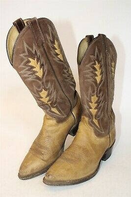 $5.50 • Buy Dan Post Mens 7.5 D Distressed Classic Leather Western Cowboy Boots 6304