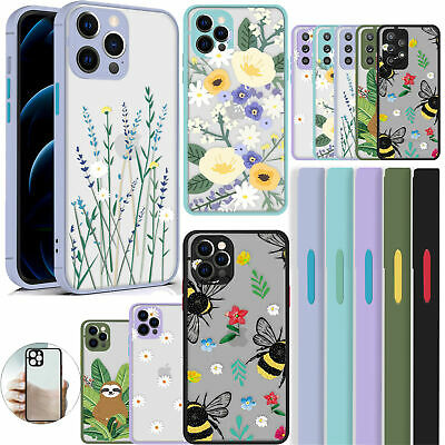 £5.68 • Buy Case For IPhone 12 11 Pro Max 7 8 SE 2 XR & Samsung Matte Shockproof Phone Cover
