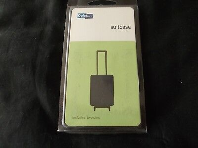 £3 • Buy 2x2 Inch Suitcase Cutting Die From Quickutz Includes 2 Dies