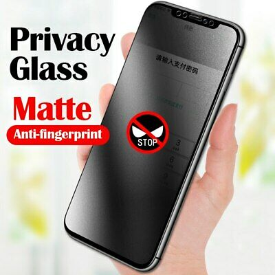 AU6.74 • Buy Apple IPhone 6 7 8 X XR XS 11 Pro Matte Privacy Tempered Glass Screen Protector