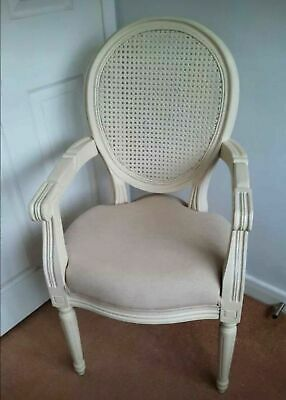 £79.99 • Buy  New Louis Chair Carver Rattan French Cream Ornate Collection Only Dn21 3