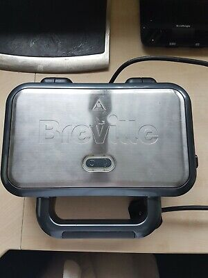 £3.50 • Buy Breville Deep Fill Sandwich Toastie Maker W Removable Plates Used Good Condition